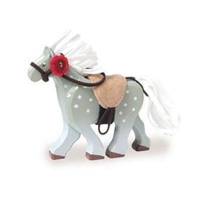 Le Toy Van Grey Wooden Horse