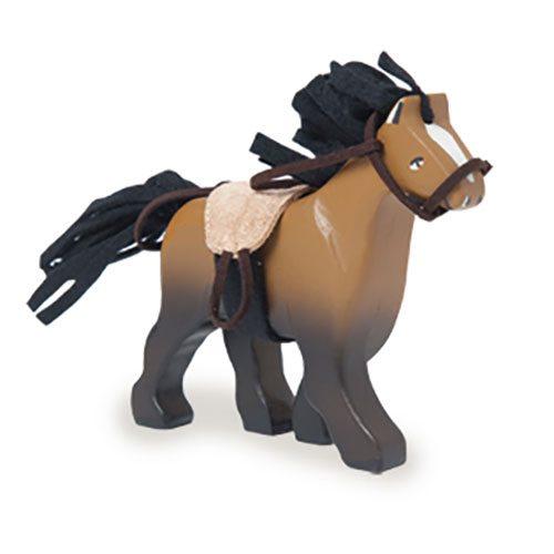 Le Toy Van - Brown Wooden Horse