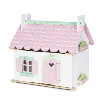 Cottage doll house with Furniture