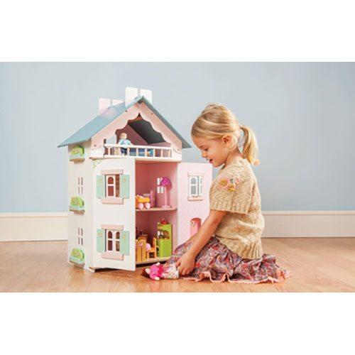 la maison de juliette doll house le toy van the wooden toy co. Black Bedroom Furniture Sets. Home Design Ideas