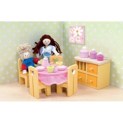 Doll House Dining Room for Le Toy Van Doll house