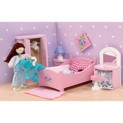 Pink Sugar Plum Bedroom Set for doll houses