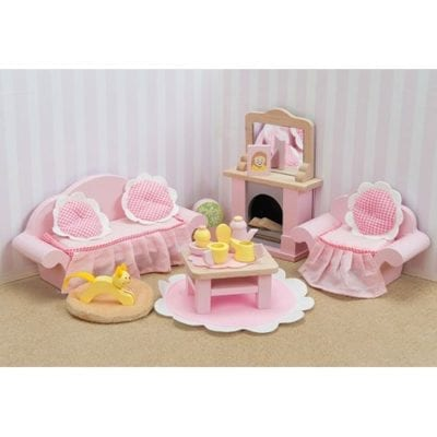 Le Toy Van Daisylane Doll House Sitting Room