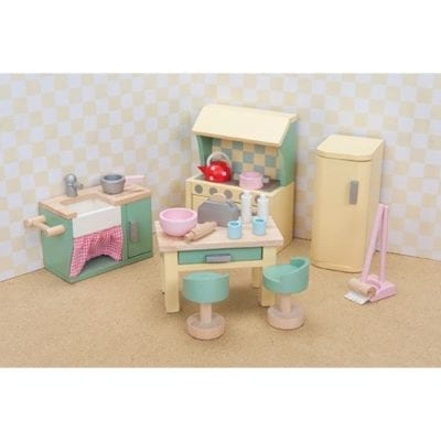 Le Toy Van A beautiful Daisylane Doll House Kitchen set