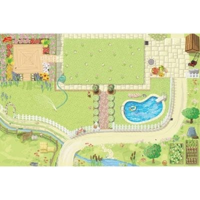 Le Toy Van Giant Doll House Playmat