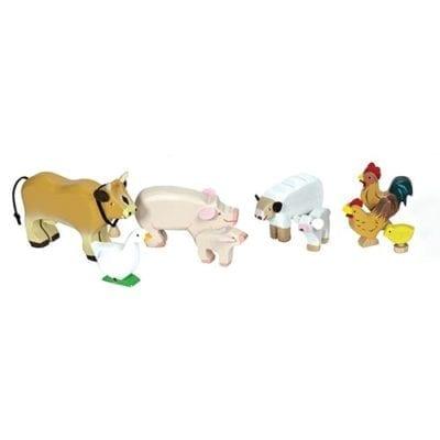 nine animals from the Sunny Farm Animal Set