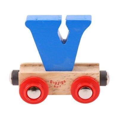 Big Jigs Rail Name Letter V