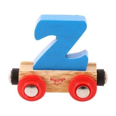 Big Jigs Rail Name Letter Z
