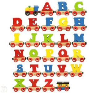 Big Jigs Rail Name Letters