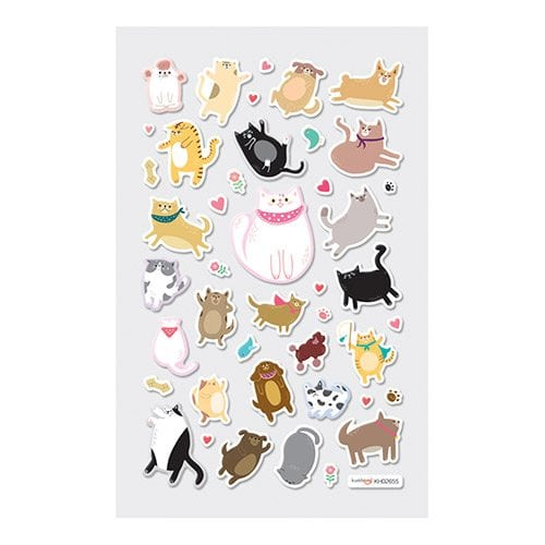 ooly Itsy Bitsy Puffy Pets Stickers