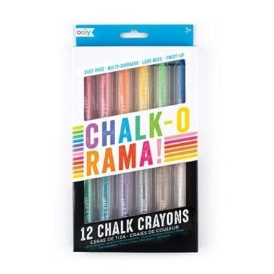 oolu Dustless Chalk Crayons