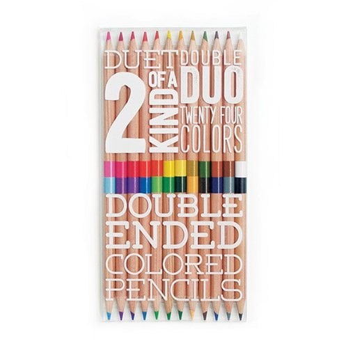 ooly 2 of A Kind Coloured Pencils