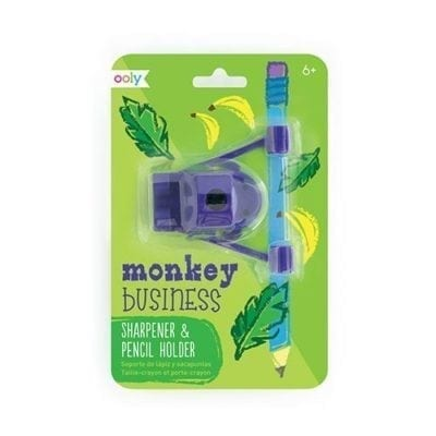 ooly Monkey Business Sharpener Pencil Holder