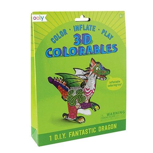 ooly Fantastic Dragon 3D Colorables