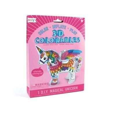 ooly Magical Unicorns 3D Colorables
