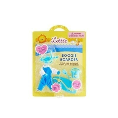 Lottie doll boogie boarder outfit set in original packaging