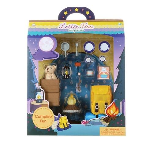 lottie campfire fun set in original packaging