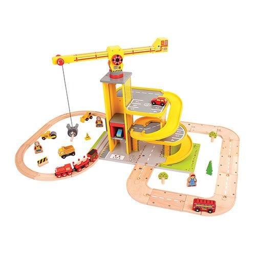 Big Jigs - Road and Rail Multi-Level Crane Set
